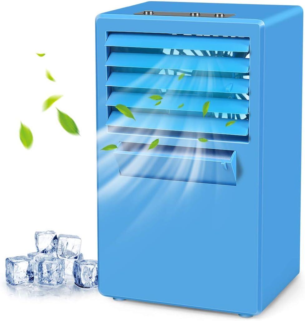 Enfriador de Aire Portatil Ventilador de Pulverización Mini ...