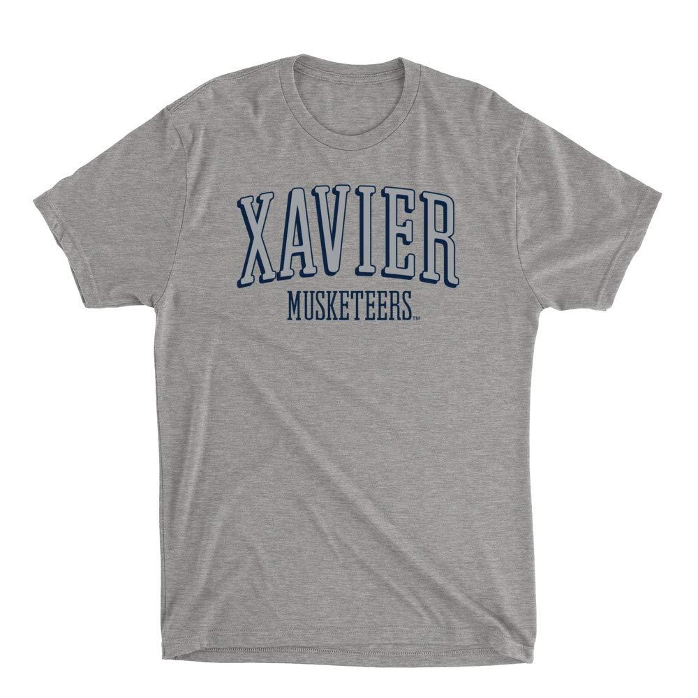 RYLXVU07 Mens//Womens Premium Triblend T-Shirt Official NCAA Xavier University