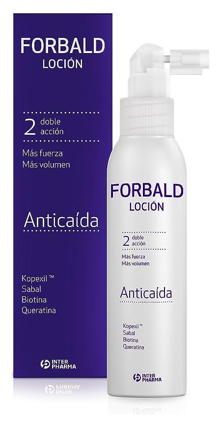 FORBALD - Loción anticaída cabello indicado para hombre y ...
