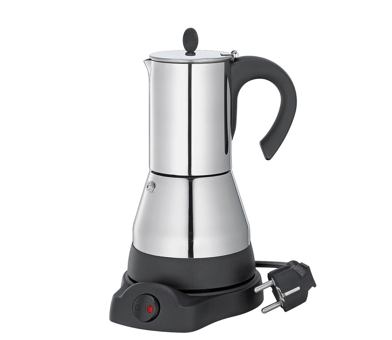 Cilio Espresso eléctrica, Acero Inoxidable, Plata, 17,5 x 13,5 x ...