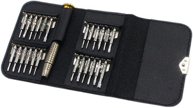 Juego destornilladores 25 FR 1 Herramientas reparación de iPhone montres