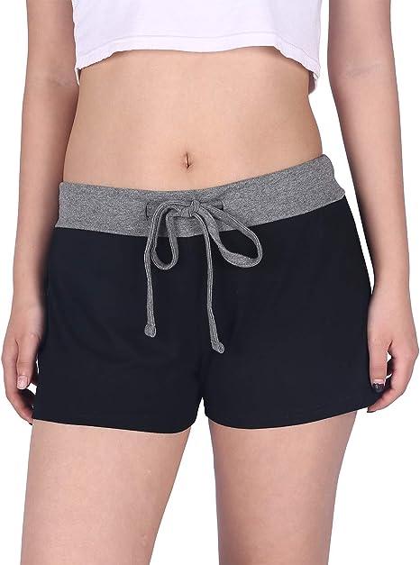 Amazon.com: HDE - Pantalones cortos de pijama para mujer ...