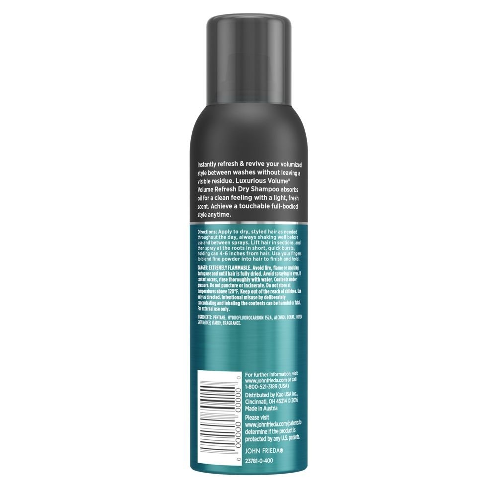 Amazon.com: John Frieda Luxurious Volume Full Hydration Leave-In Detangling Mist, 6.77 Ounces: Beauty