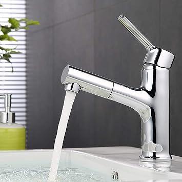 Ubeegol Wasserhahn Bad Mit Brause Waschtischarmatur Ausziehbar