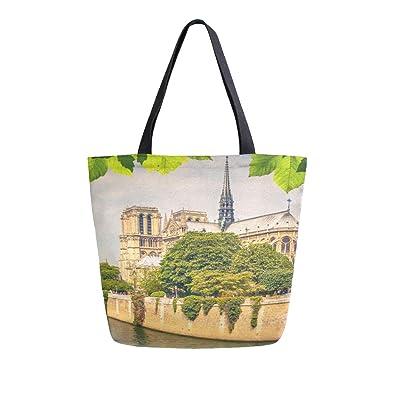 Reopx Notre Dame Paris Vista primavera Portátil Grande doble ...