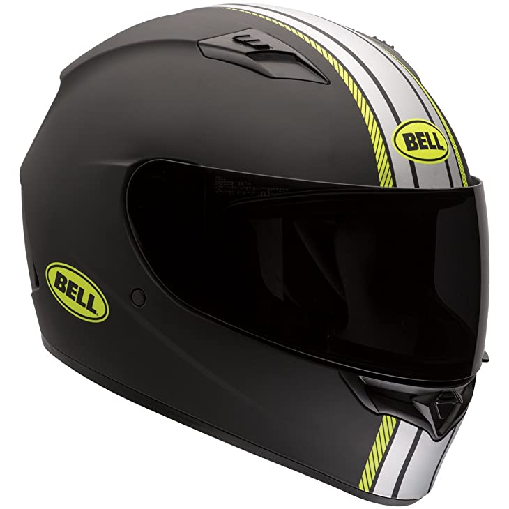 Bell Hi-Vis Rally Adult Qualifier Full Face Motorcycle Helmet