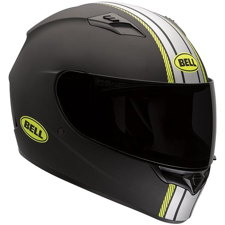 Bell Hi-Vis Rally Adult Qualifier Full Face Motorcycle Helmet