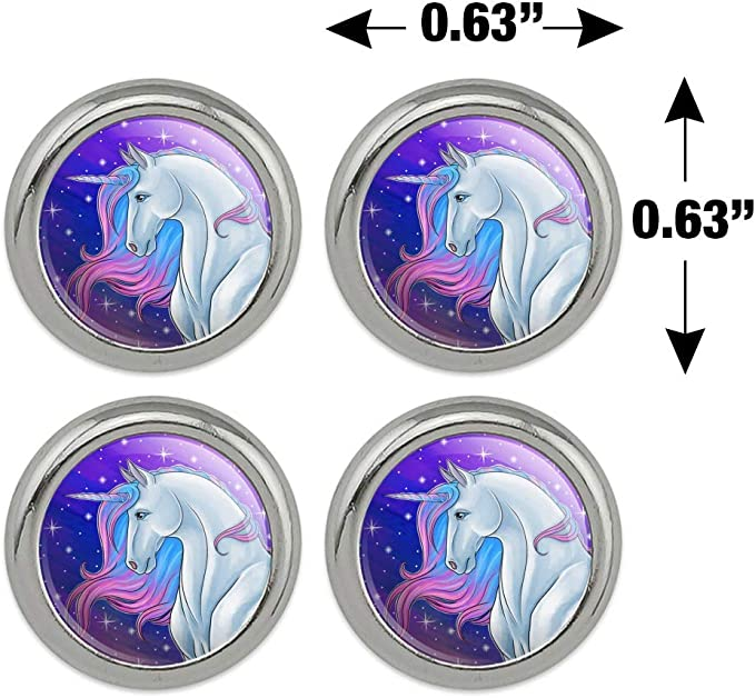 CRAFTING NOVELTY BUTTONS SEWING 4 WOODEN UNICORN BUTTONS KNITTING PINK