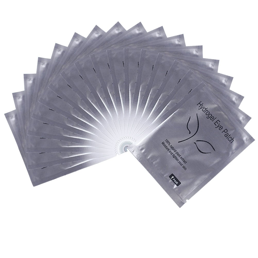 100 Pairs Eyelash Lash Extension Under Eye Gel Collagen Pads Lint Patches (100 PCS)