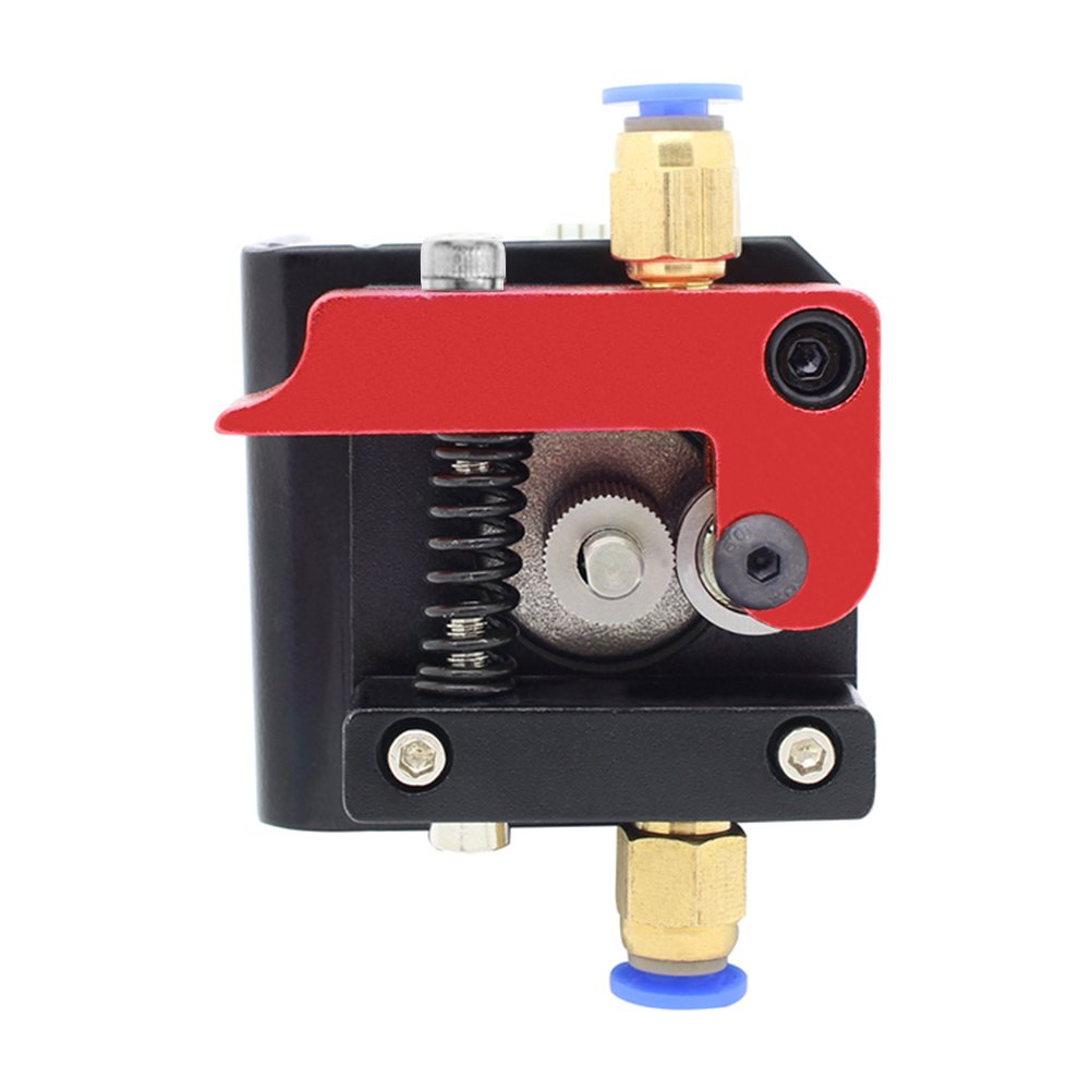 YOTINO Upgraded Aluminum Bowden Extruder with 50 Teeth MK8 Drive Gear for Reprap 3D Printer Kossel Mendal Prusa(Left Hand)