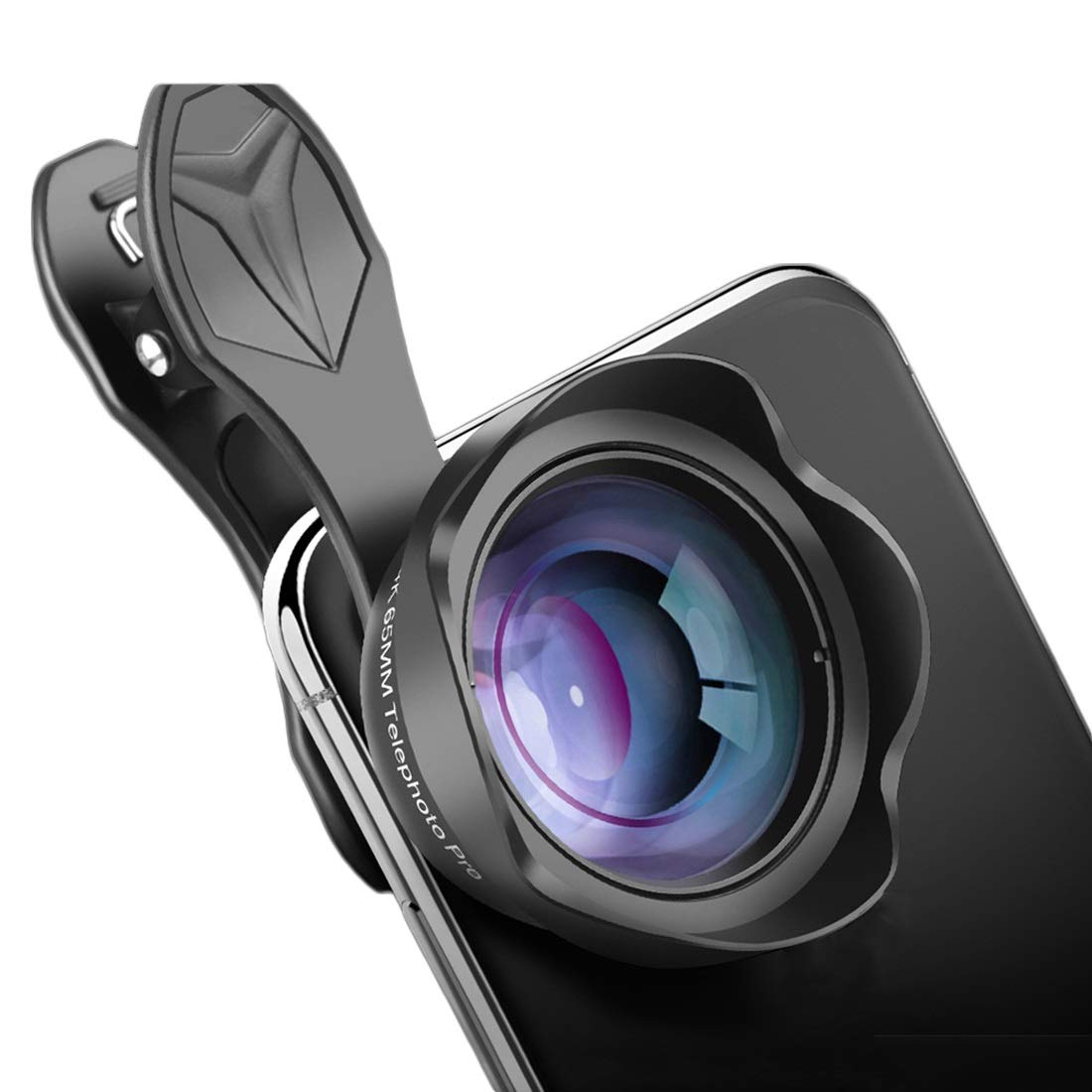 Kathleen Chance Cell Phone Camera Lens 4k 65mm Telephoto Lens for Detail Shooting Compatible iPhone x 8 7 Plus, Samsung Smartphones