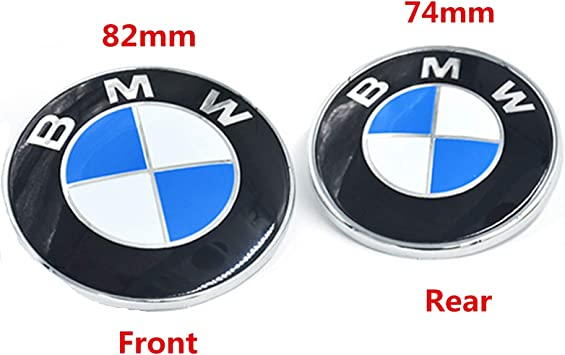 "82mm BMW /""M/""  Badge Boot Bonnet"