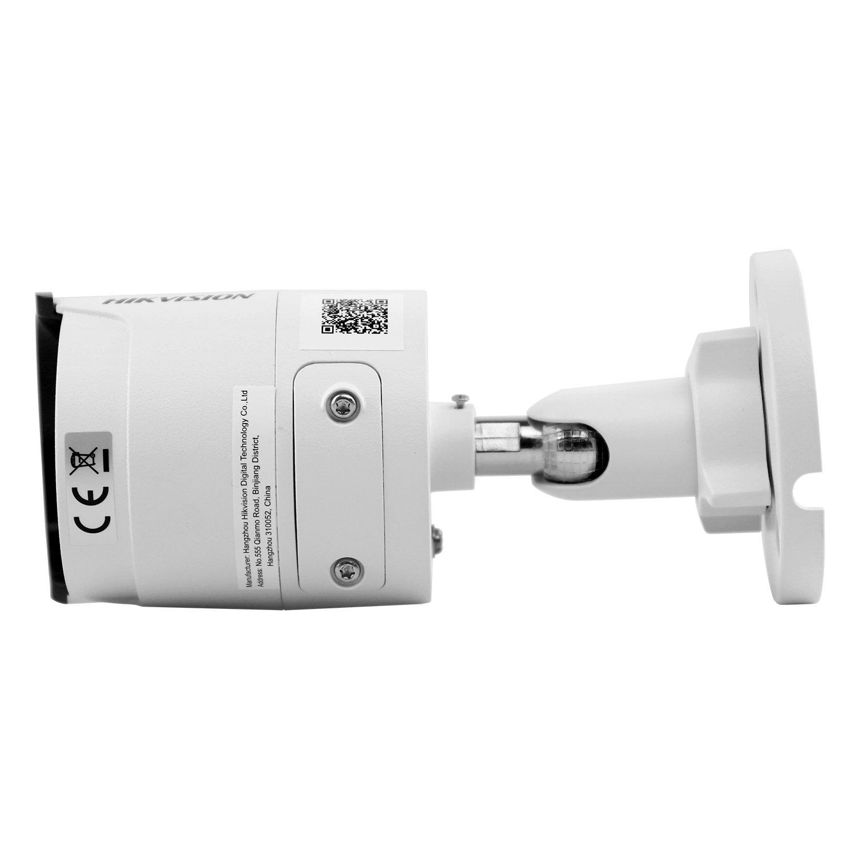HIKVISION DS-2CD2035FWD-I Cámara IP para exteriores de 3,0 MP con corte por infrarrojos Prime 128 (Detección de movimiento de noche diurna PoE Acceso remoto ...