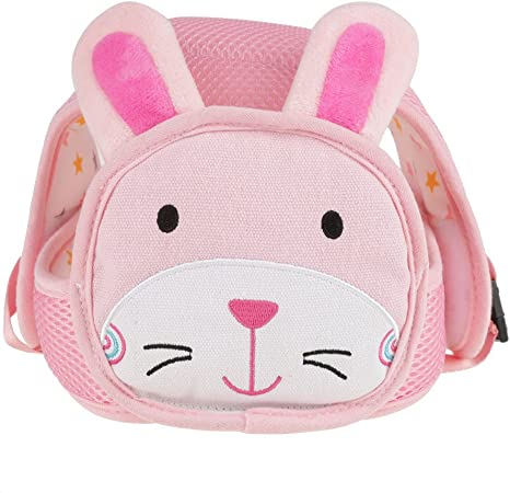 Rabbit Zerodis Cartoon Baby Safety Helmet Toddler Hat Infant Walking Crawling Head Protection Cap