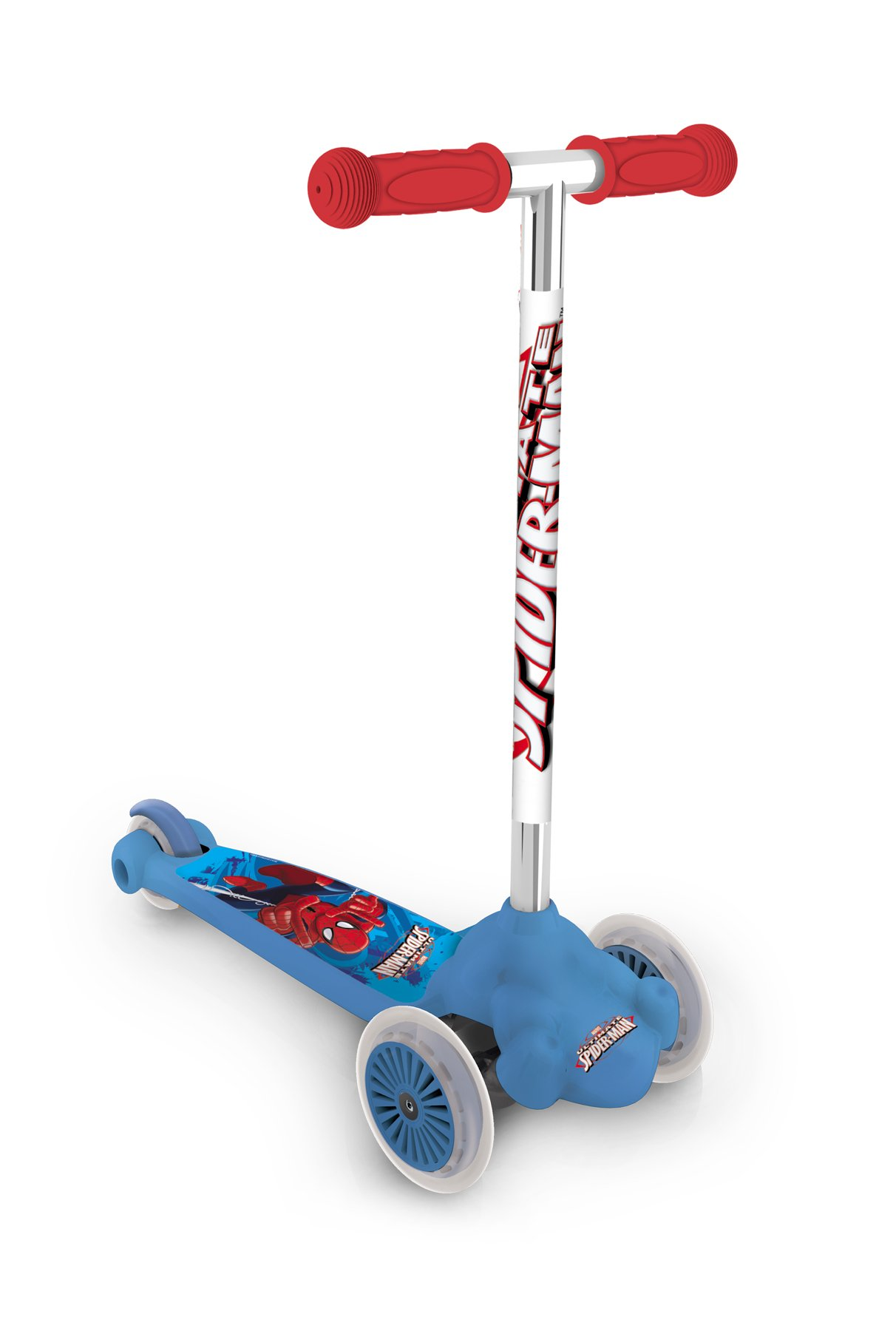 Mondo 18395 - Ultimate Spiderman Twist & roll, patinete 2 ruedas delanteras product image