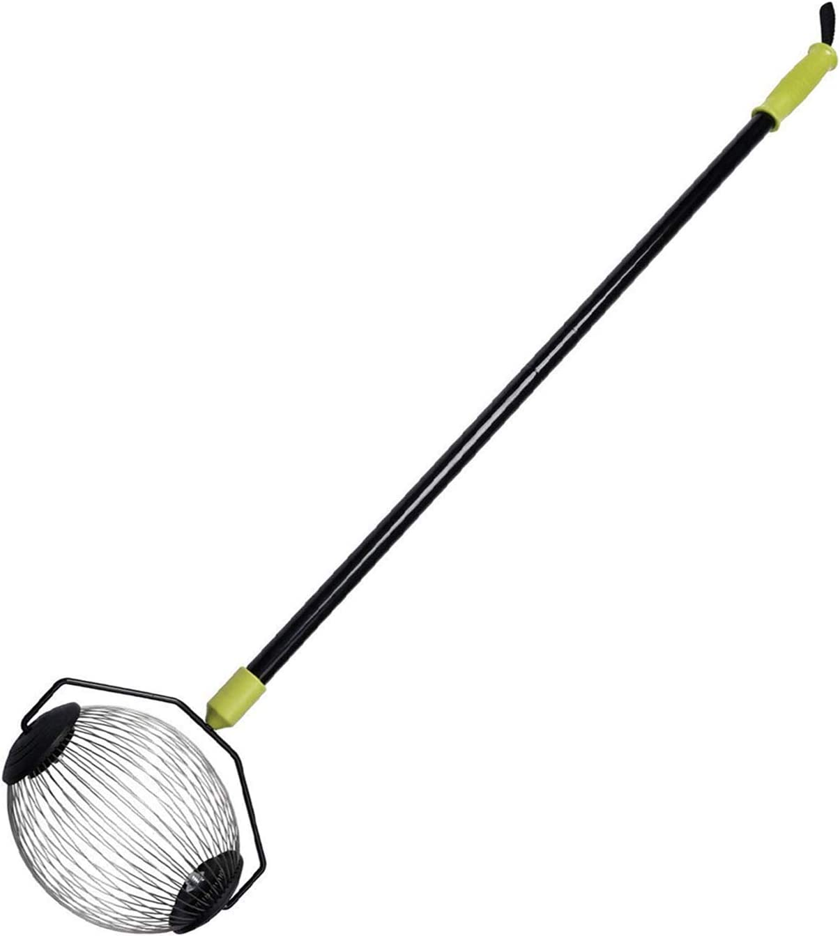 """ORIENTOOLS Nut Gatherer, Garden Rolling Nut Harvester, Picks up Balls, Pecans, Crab Apples, Acorns, Hickory Nuts & Other Objects 3/4"""" to 1 1/2"""" in Size, Medium, 48 inches"""