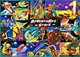 Retro Space Travel 1000 Piece Jigsaw Puzzle JUST RELEASED