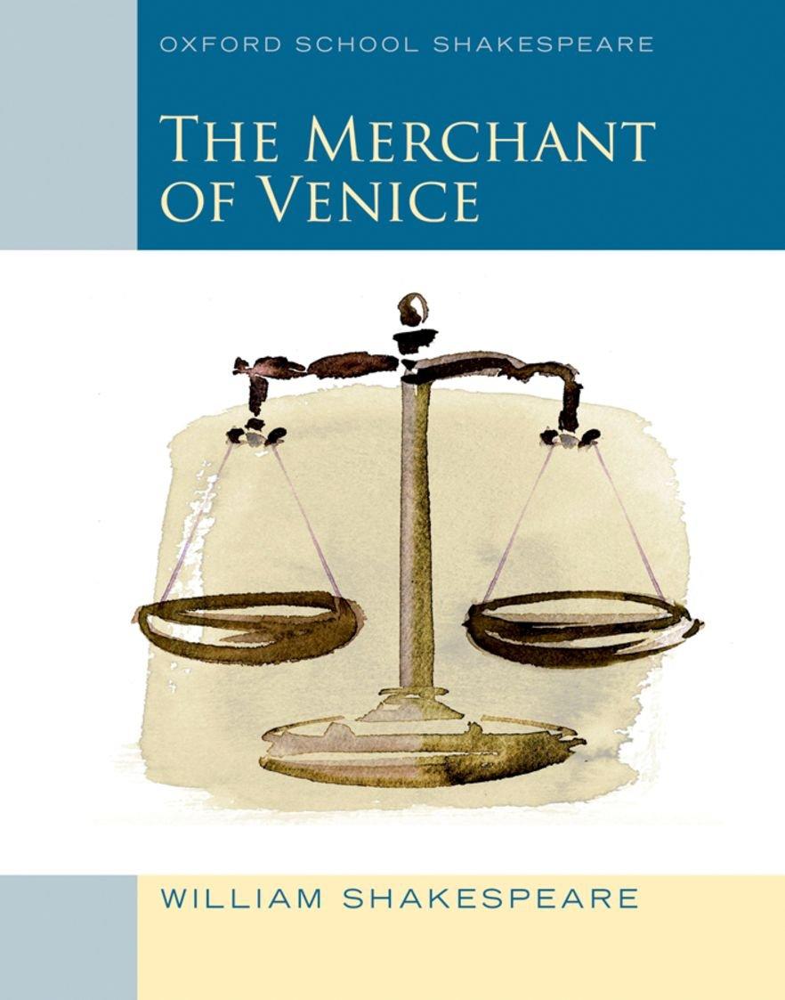 Oxford School Shakespeare Merchant Of Venice Amazon William