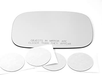 Fits 06-12 Toyota Rav4 Heated Right Passenger Convex Mirror Glass Lens w//Adhesiv