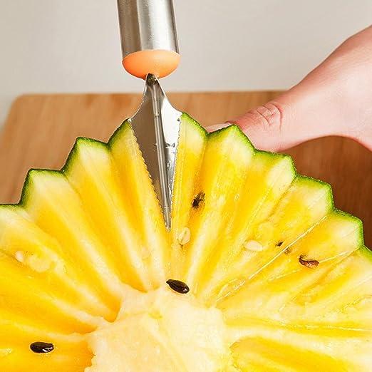 TAOtTAO - Cuchillo para tallar frutas, sandía, melón, helado ...