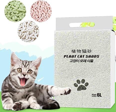 LbojailiAi - Arena de maíz para Gatos (6 L): Amazon.es: Productos ...