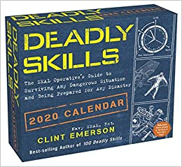 best skills 2020 Deadly Skills 2020 Day to Day Calendar: Clint Emerson