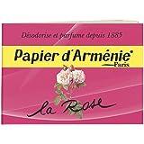 Papier d'Armenie La Rose Burning Papers (1 Book of 12 Sheets)