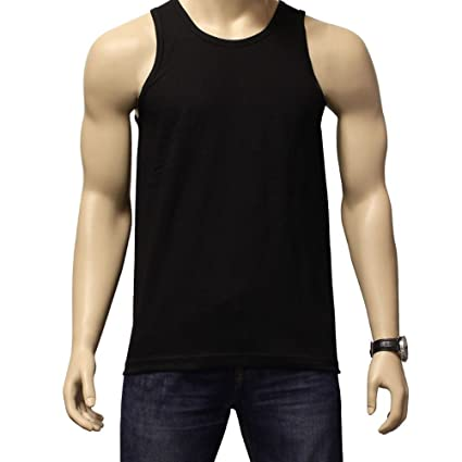 2cadef9f95019 Image Unavailable. Image not available for. Color  Beth Sport Men s Plain  100% Cotton Tank Top A-Shirt Muscle Camo Wife Beater