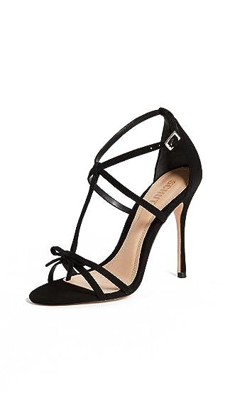 Sandals for Women On Sale, Black, Leather, 2017, 5.5 Schutz