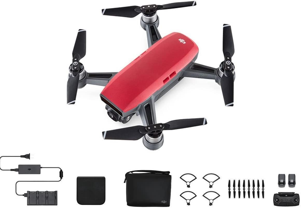 DJI Spark is at # 4 for best selfie drones on amazon