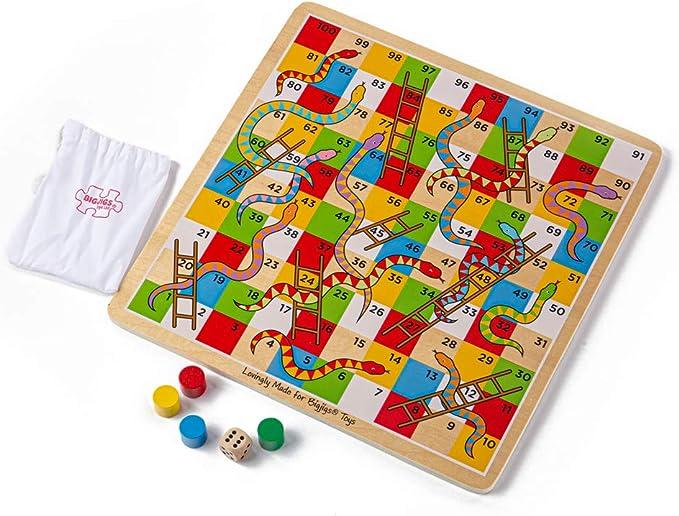 Bigjigs Toys Scale E Serpenti Tradizionale Amazon It Giochi E Giocattoli