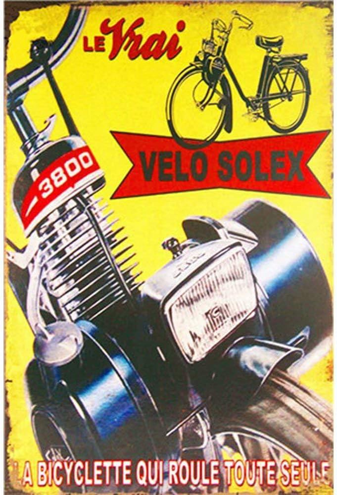 Grand Prix 40e Plaque Rétro Art Imprimé Metal Signe Vintage signe étain