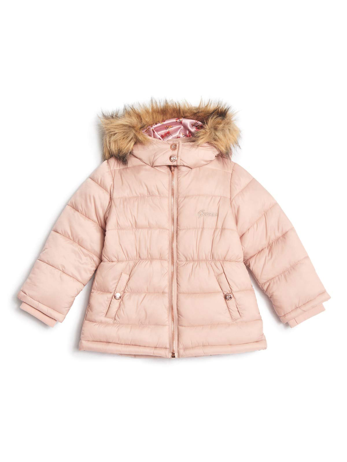 GUESS Factory Kylah Puffer Jacket (2-6) by GUESS Factory