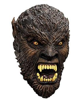 Horror-Shop Luna llena Máscara bestia del hombre lobo: Amazon.es: Juguetes y juegos