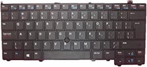 Laptop Keyboard for DELL Latitude E7440 P40G Canada CA 00GV9M 0GV9M PK130VN3A34 SG-60700-87A SN7222 with Pointing