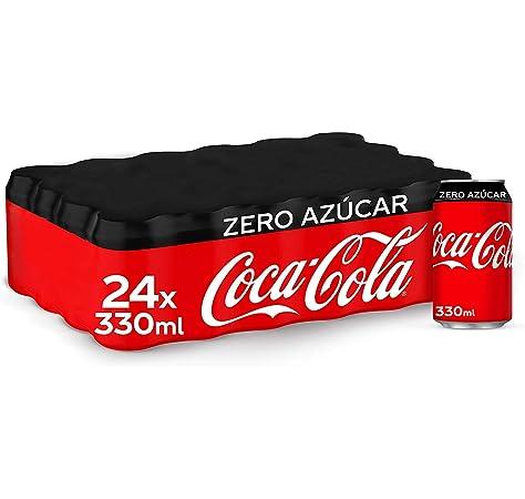 Coca-Cola Zero Azúcar Lata - 330 ml (Pack de 48): Amazon.es ...