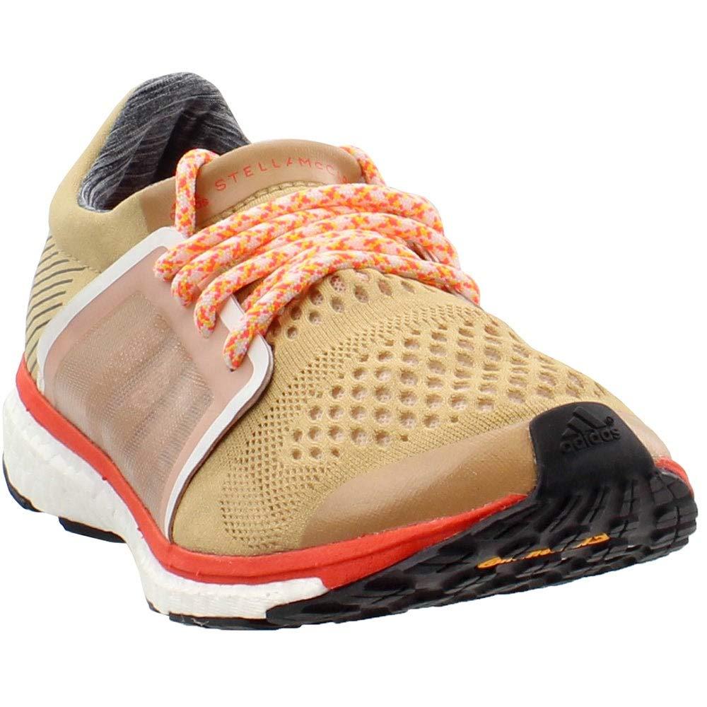 Image of adidas by Stella McCartney Adizero Adios Cardboard/Soft Powder/Semi Solar Red 6.5 Road Running