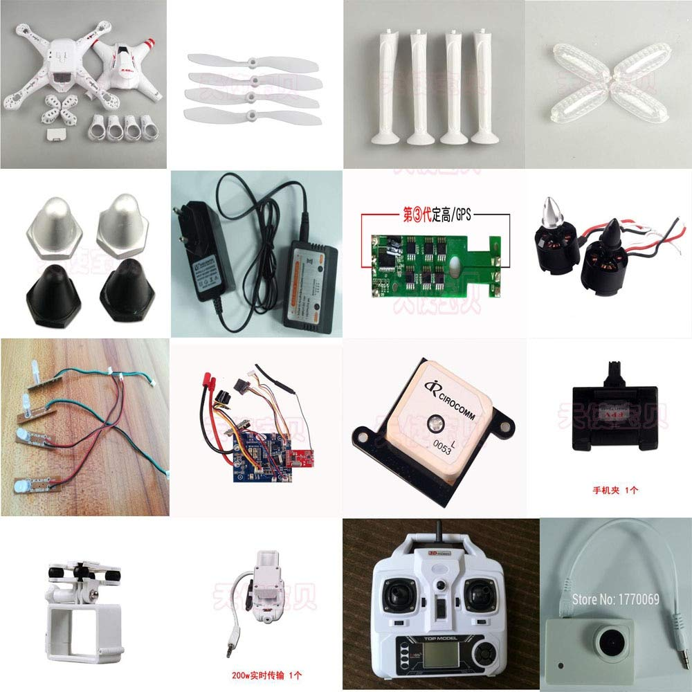 Parte y Accesorios Bayang Toys BAYANGTOYS X16 GPS RC Quadcopter ...