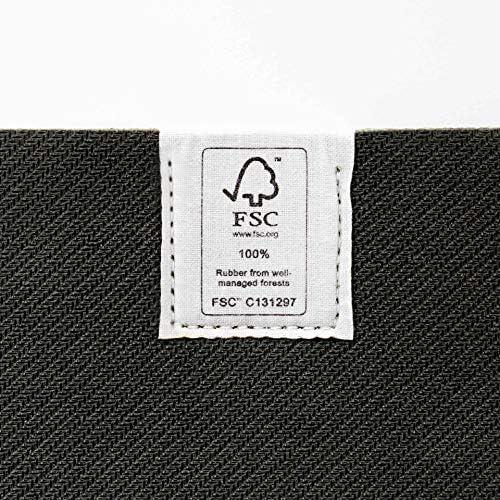 Southern Shores Esterilla de yoga antideslizante de caucho natural – Ocean Mat, ecológica, con certificado FSC, 183 x 61 cm 27
