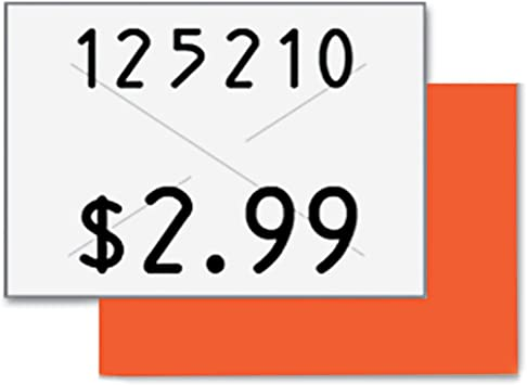COS090949 Garvey Two-Line Pricemarker Labels
