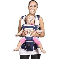 Bebamour Designer Sling and Baby Carrier 2 in 1,Approved by U.S. Safety Standards,Dark Blue