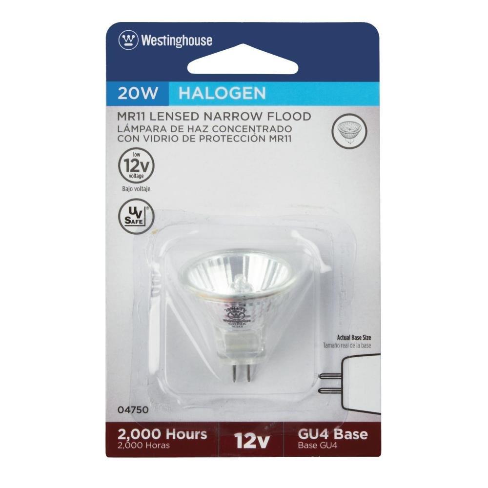 Westinghouse Lighting  04750 Corp 20-watt MR11 Halogen Flood Bulb