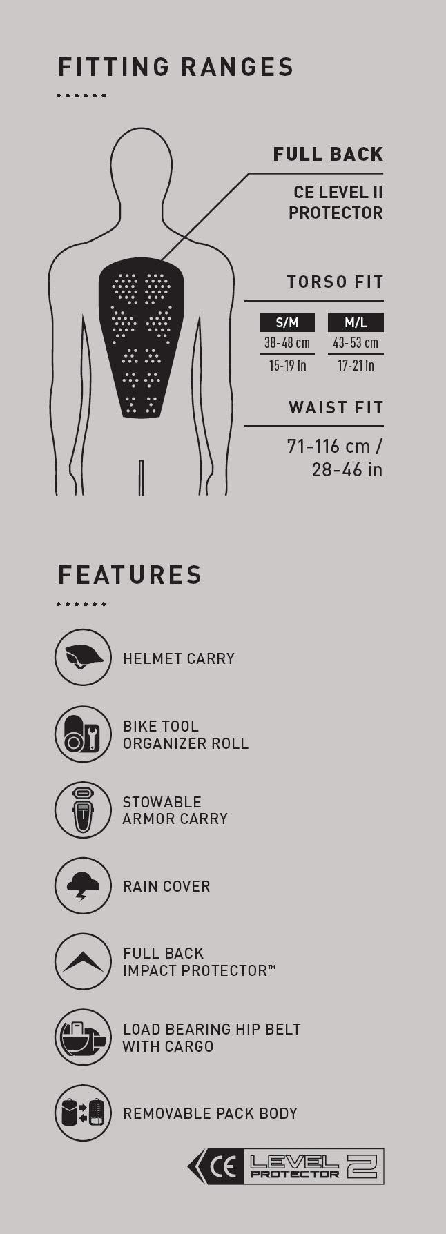 CamelBak Chase Bike Vest 50 oz Hydration Pack, Black by CamelBak (Image #1)