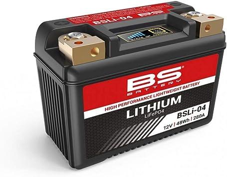 Motodak Batterie BS Battery BSLI-04 Lithium