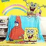 HOLY HOME Children's Flannel Fleece Blanket Throw
