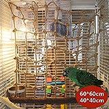 Bird Climbing Net, Parrot Climbing Toys Thicken Chew Rope Net Hammock Hanging Ladder