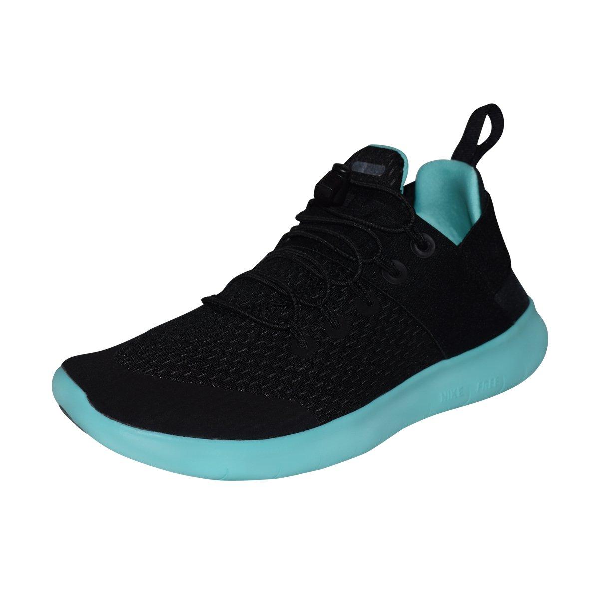 NIKE Women's Free RN CMTR 2017 Running Shoe B07BZKPZJ7 9 B(M) US|Black/Aurora