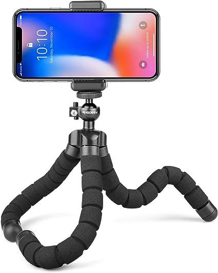 Rhodesy Oktopus Handy Stativ Tripod Dreibein Stativ Kamera