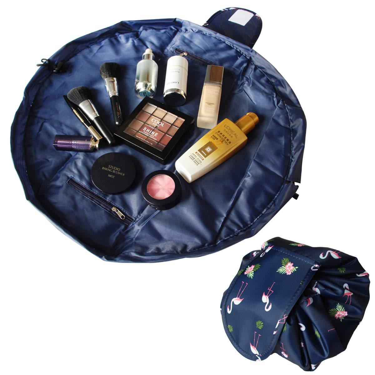 Amazon.com: Bolsa de maquillaje portátil rápida con cordón ...