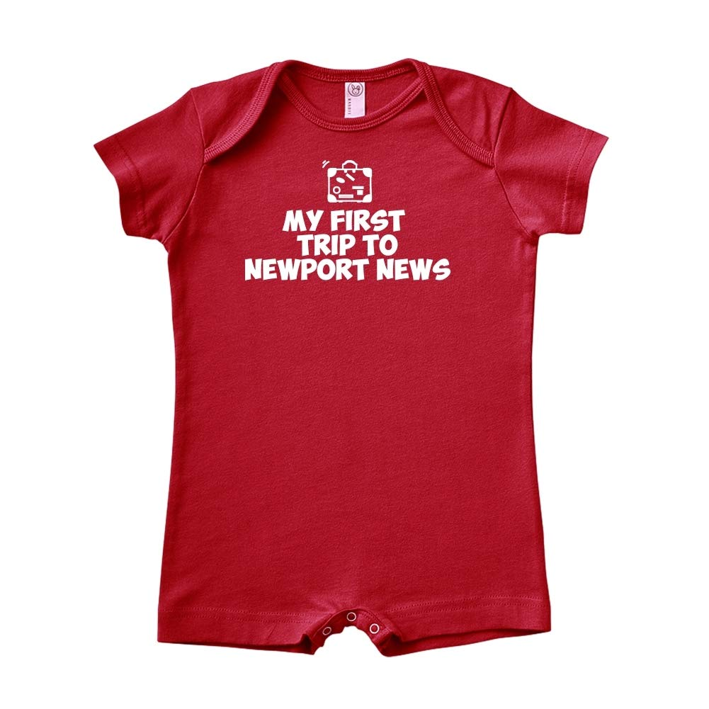 My First Trip to Newport News Baby Romper